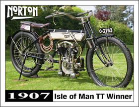 1907 TT Winning Norton