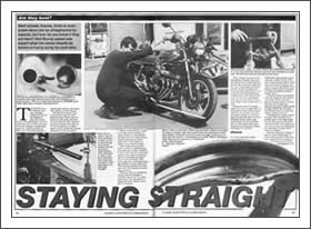 Classic &Motorcycle Mechanics article from January 1994