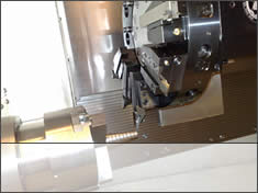 CNC Centre Turning Machine In Action